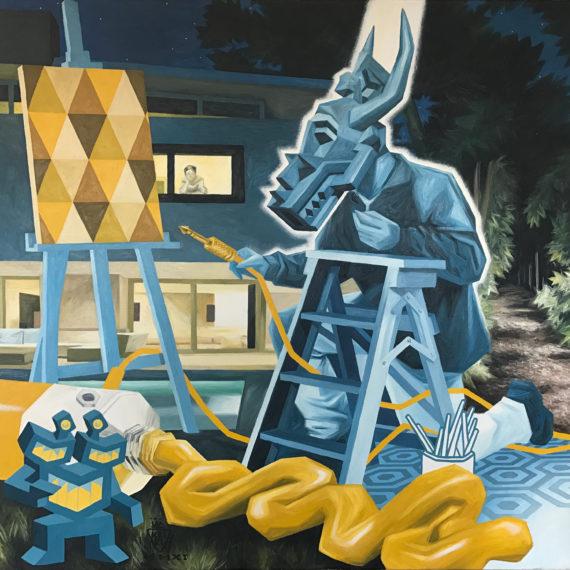 connexion-jaune-mouvementcom-art-galerie-nice