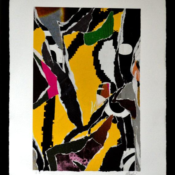 affiche-dechiree-jaune-mouvementcom-art-galerie-nice