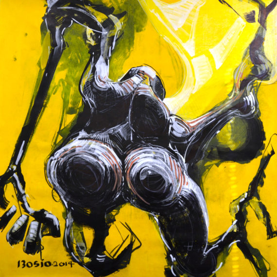 bosio expose racine jaune chez dso