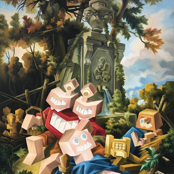 Exposition d'art à Nice sur l'artiste Kriki